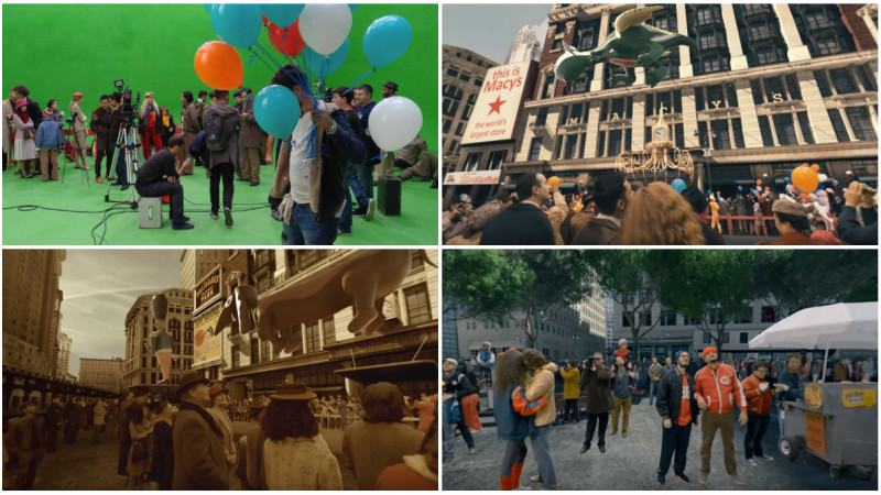 3 ipostaze din trecutul New York-ului recreate in 360. O isprava Macy's si Safe Frame