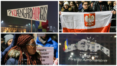 Solidaritatea venita din afara granitelor