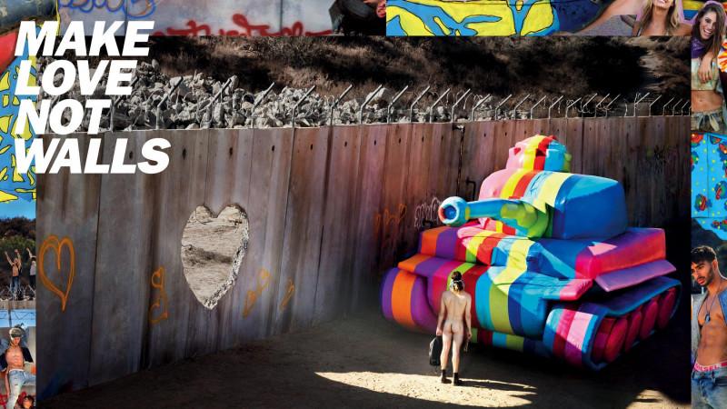 Faceți dragoste, nu ziduri