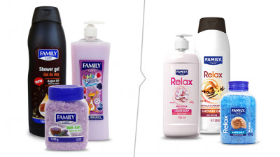 Family Care - Refresh packaging - Old vs. New