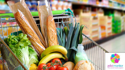 Cele mai vizibile branduri de hypermarket & supermarket in online si pe Facebook in luna ianuarie 2017