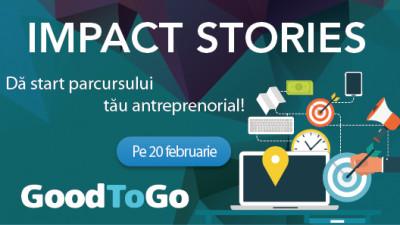 Good to Go dă startul conferințelor Impact Stories