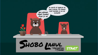 """Shobo si pachetul de tigari"", un joculet dedicat angajatilor chinuiti de sef"