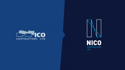 Nico Contractors Ltd - Refresh de brand - Old vs. new