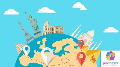 Cele mai vizibile branduri de turism in online si pe Facebook in luna ianuarie 2017