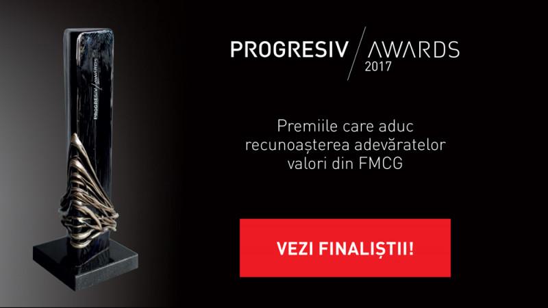 Progresiv Awards, premiilecare aduc recunoașterea adevăratelor valori din piața FMCG, anunță finaliștii ediției 2017