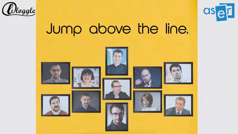 Bloggle: Jump above the line! Go online!
