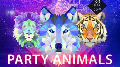 Be ready for Party Animals!