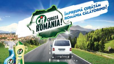 În cel de-al IV-lea an de CIF Curăță România,CIF şi MullenLowe redau strălucirea locurilor frumoase din țară alături de români