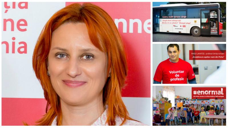 [CSR-ul lui 2017] Angela Galeta, Fundatia Vodafone Romania: Tot mai multe companii aleg domeniile in care se implica in urma unor studii de piata, tinand cont de asteptarile si nevoile comunitatii