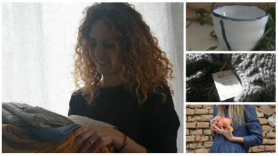 In Alba Iulia, trei femei au grija de lana toarsa romaneasca