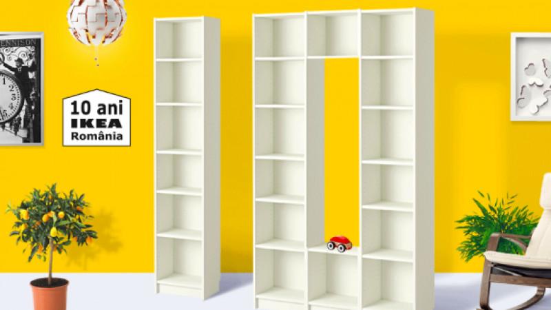 IKEA sărbătorește 10 ani în România