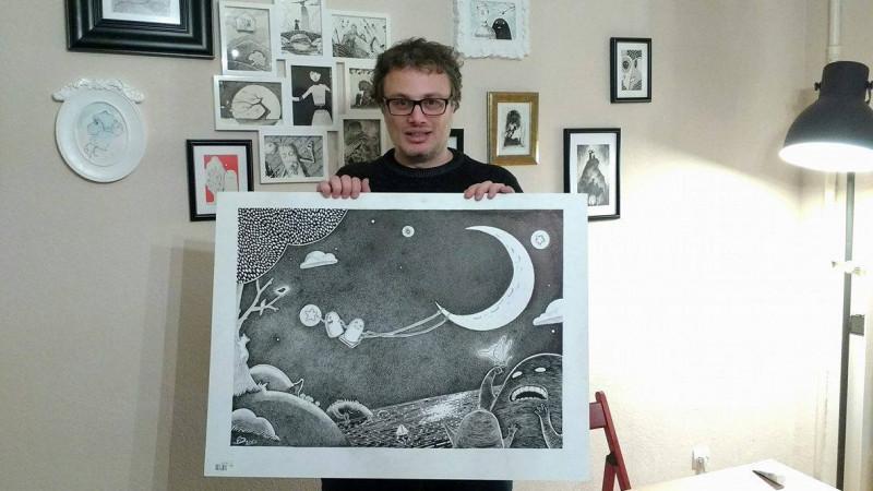 Un jack-of-all-trades mutat in Franta. Dan Ene face ilustratie, storyboard-uri, motion design, animatie 2D si 3D