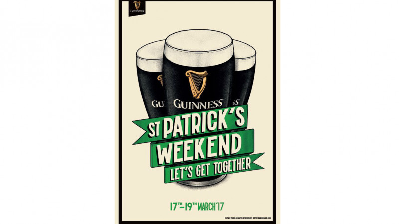 Guinness aduce prietenii împreună de St. Patrick