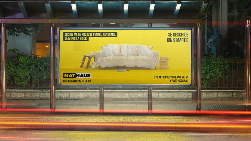 Marks semnează identitatea MATHAUS, divizia de retail a brandului Arabesque
