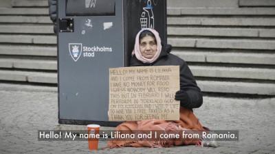 Experiment în Suedia: Sunt din România și nu am ce mânca, dar îți ofer două bilete gratis