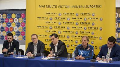 Fortuna devine sponsor al echipei nationale de fotbal a Romaniei