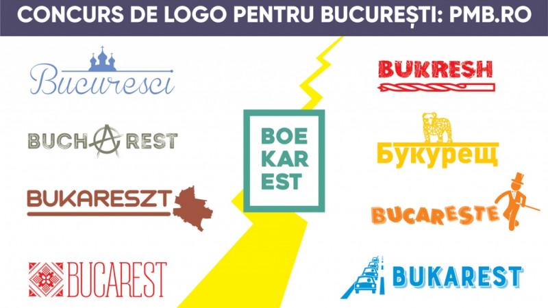 Dați un logo pentru București