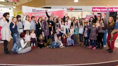 """Bloggerul Ela Crăciun a generat o audiență de 100.000 de spectatori online în primul eveniment dedicat """"super mamelor"""""""