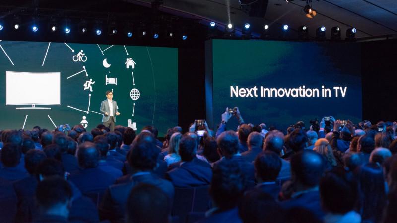 Samsung prezintă noua gamă de televizoare într-un eveniment la Luvru, în Paris