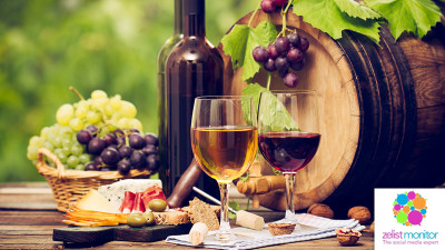Cele mai vizibile branduri de vin in online si pe Facebook in luna februarie 2017