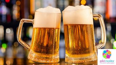 Cele mai vizibile branduri de bere in online si pe Facebook in luna martie 2017