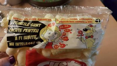 Pufuleții Gusto sunt făcuți să fie mâncați, nu apreciați pentru copy