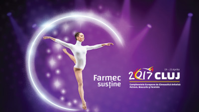 Campion la gimnastica frumuseţii, Farmec devine partener oficial al Campionatelor Europene de Gimnastică Artistică Petrom