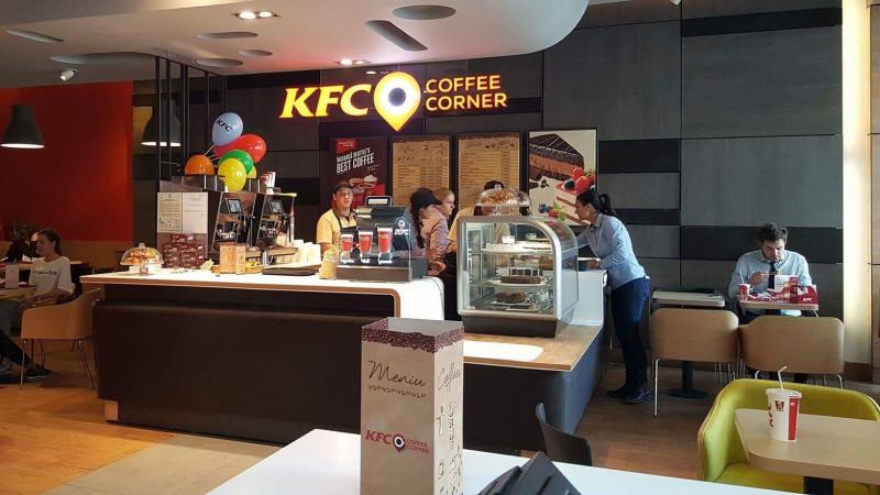 KFC a deschis primul Coffee Corner din România, în Unirea Shopping Center din Bucureşti