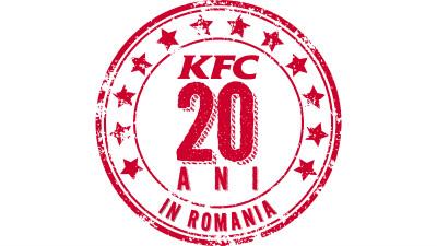 KFC împlineşte 20 de ani pe piaţa din România