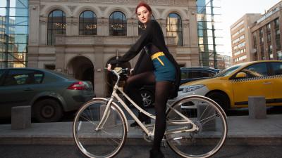 Pentru biciclistele de cursă zilnică