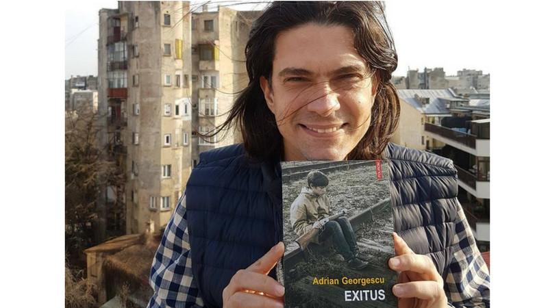 """Inginer, jurnalist, blogger, scriitor. Adrian Georgescu: """"N-am cunoscut încă pe cineva care să aibă umor și căruia să nu-i meargă mintea"""""""