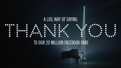 20 de limbi străine, 1 cântec - Lidl sărbătorește 20 de milioane de fani