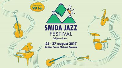 Cea de-a doua ediție a Smida Jazz Festival va avea loc între 25 și 27 august 2017, în inima Parcului Natural Apuseni