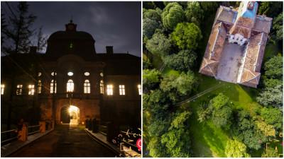 Festivalul din castel scoala Targu Muresul cu noaptea-n cap
