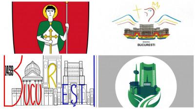 Logo-ul Bucureștiului. Variante necâștigătoare