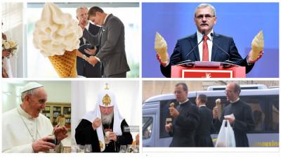 Coaliția pentru Vanilie: Doar o înghețată asigură continuitatea poporului român