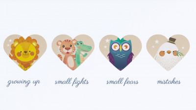 Plasturi pentru inimi micuțe și rănite