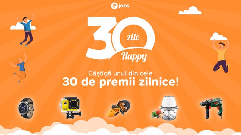 eJobs și Bright Agency descoperă secretul fericirii în #30deZileHappy