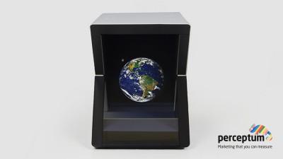 YHoloSpace revolutioneaza in-store marketing-ul. Un nou pariu cu tehnologia marca Perceptum