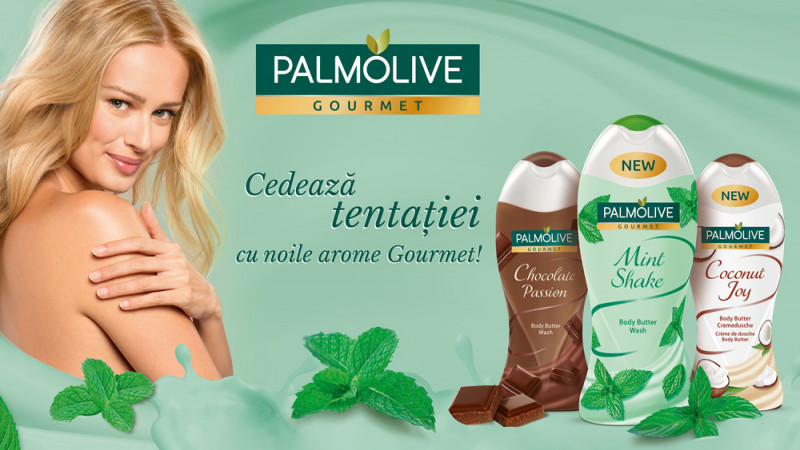 Noile creme de duș Palmolive Gourmet Mint Shake și Coconut Joy: tentația nu s-a simțit niciodată atât de bine