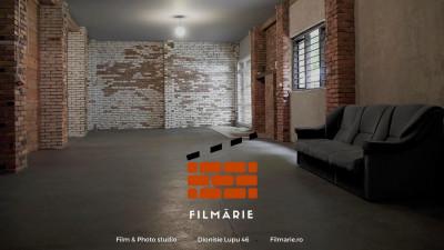 Se deschide Filmărie, studio în mijlocul Bucureștiului