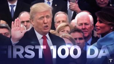 Războiul lui Trump cu media. CNN a refuzat să difuzeze spotul de 100 de zile