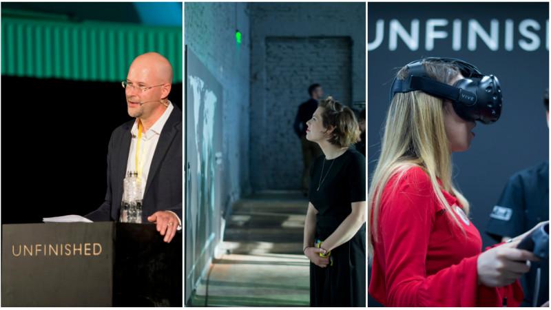 A inceput festivalul UNFINISHED – 30 de lideri creativi, antreprenori si artisti internationali sunt la Sala Dalles intre 25 si 28 mai