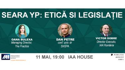 IAA Young Professionals România organizează Seară YP de Etică și Legislație în MarComm