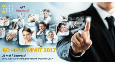 4 dintre cei mai influenți 50 de experți globali în HR vor fi prezenți la BD HR SUMMIT 2017, în 25 și 26 mai