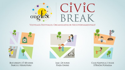 ONGFest 2017 te invită în Civic Break