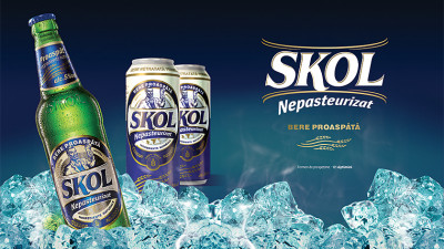 Skol nepasteurizat - Packaging