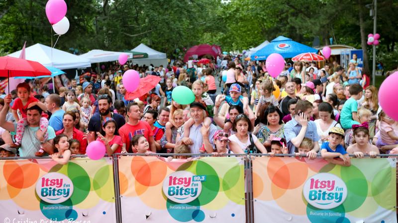 Peste 40.000 de părinţi şi copii au sărbătorit cu Itsy Bitsy prima zi liberă naţională de 1 Iunie
