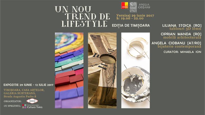 Un nou trend de lifestyle – expozitia de design de produs ajunge pe 29 iunie la Timişoara
